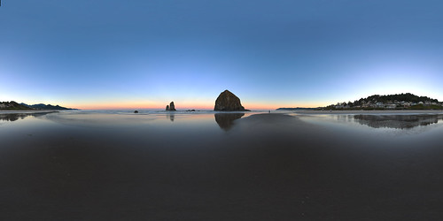 Cannon Beach at Dawn