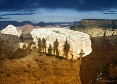 Casting shadows at the Grand Canyon (imago2007 (BUSY)) Tags: park arizona nature canon photography virginia nationalpark shadows grandcanyon canyon v vista rebelxt vt virgie pinoykodakero imago2007