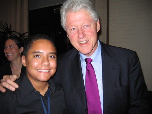 Me and Bill Clinton