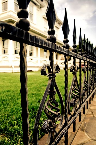 Perimeters - wrought iron fence in Stayton Oregon