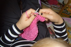 Oona Knitting