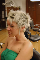 haircut blond spiky pattern (wip-hairport) Tags: haircut spiky pattern lisbon short hairdresser wiphairport