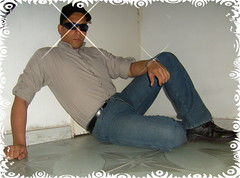 JEANS 47 (Mi Favorita) (AVENTURA615) Tags: sexy police jeans macho hombre policeman bulge polica bulges bulto varonil pantalonesajustados