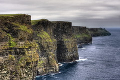 Cliff of Moher - Hag's Head side. 2 (Maurizio Contini) Tags: ocean ireland irish cliff tower water spectacular europe view head north cliffs atlantic views meters maurizio obriens hags contini