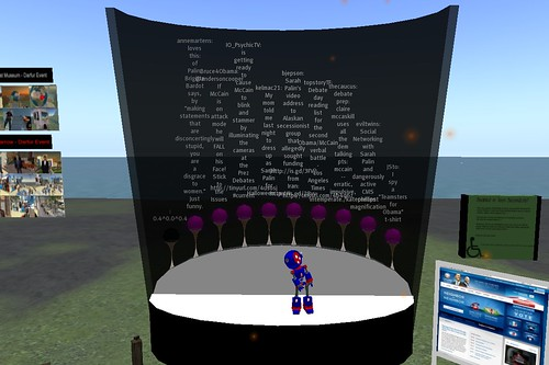 Tweet Theater on GK Island