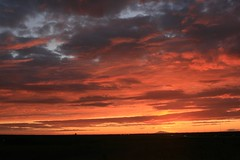 Sunset (hrannar) Tags: sunset sky clouds iceland 2008 snfellsjkull sland sk himinn slsetur hrannar suurnes awardtree skja