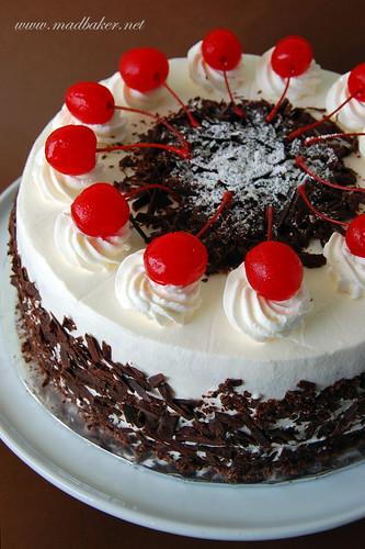 Old School Blackforest Cake