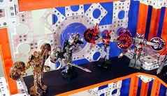 Palisades Micronauts Display (19 of 37) (Alexis Dyer) Tags: world art japan toy actionfigure japanese star robot photo starwars gun ship display action space borg alien battle system collection galaxy fantasy transformers weapon micro egyptian figure scifi sarcophagus customized warrior rocket sciencefiction cyborg tron outerspace universe ultra takara android futuristic diorama tomy mecha droid bot palisades robo defender mego galactic micronauts robotech robotic micronaut microman microverse micropolis  pharoid interchangeables themicronauts  assembleborg henshincybrog