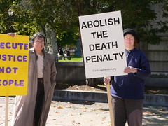 NHCADP Protest - World Day Against the Death Penalty