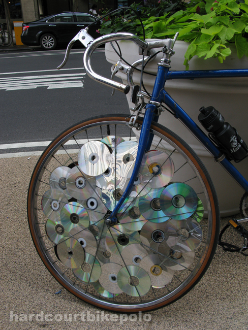 disc wheel of discs