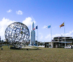 Kourou space port