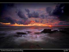 Sunset drama at Dunraven Bay (opobs) Tags: sky beach water southwales wales seaside sand 1000 bcc wfc valeofglamorgan bridgend rockpool southerndown wetknees dunravenbay glamorganheritagecoast welshflickrcymru opobs bridgenddistrictcameraclub michaeljstokesawpf
