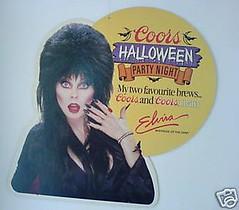 Elvira Coors Halloween Party Night Sign (nightbard13) Tags: elvira