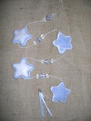 Mobile (ankh bijuterias) Tags: natal estrela artesanato borboleta corao manual feltro presente barato