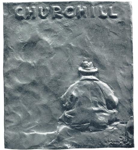 Engstrom Medal #75 Churchill