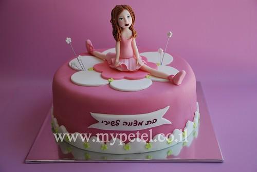 Ballerina Cake ~*~ עוגת בת מצווה רקדנית