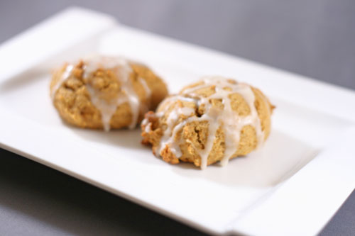 Iced Pumpkin Cookies Recipe