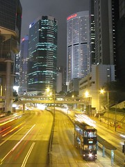 central HK at night