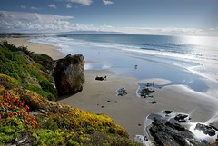 Pismo Beach 08 (Tonym1) Tags: ocean sky water sand rocks pismobeach