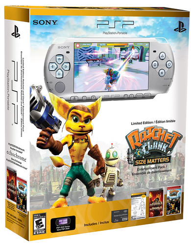 Ratchet PSP bundle box