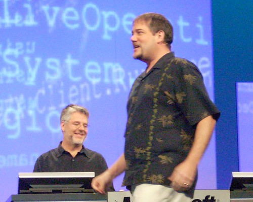 Chris Anderson and Don Box Keynoting PDC2008