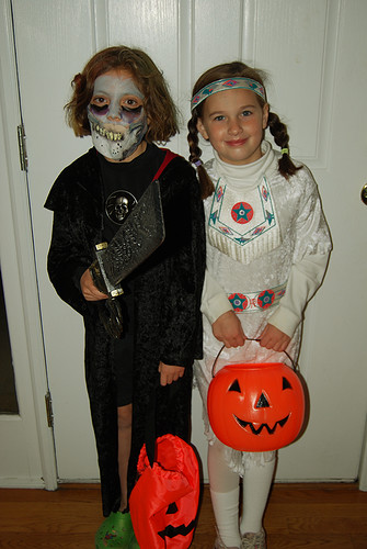 Halloween: Grace and Eryn