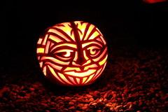 Art-o-lantern (smashz) Tags: art halloween pumpkin jackolantern kahn stanford smashz foldrmonitr