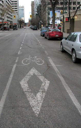 Bike Lane - Hargrave Street