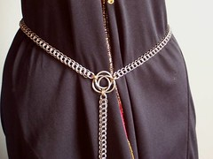 celtic knot belt close up (hwkwlf) Tags: flower necklace belt clothing punk hand dress cross mail gothic goth earring jewelry skirt medieval chain lolita bracelet cloth loin choker chainmail slave maille handflower hawkwolf