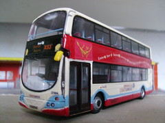 HX08DHG 37584 (jeff.day48) Tags: volvo wright gemini code3 modelbus firsthampshiredorset wx08dhg