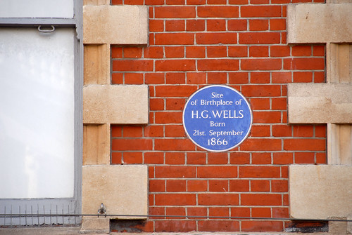h. g. wells biography. Wells birthplace