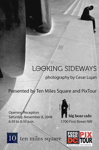 Looking Sideways poster - 150dpi