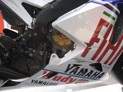 EICMA (mmphotography.it) Tags: foto motogp 2008 08 thedoctor valentinorossi eicma canonpowershotsd700is yamaham1m1 grantukingphoto