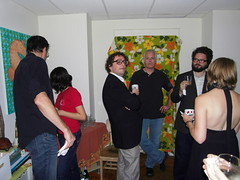 noah, corky, josh, mary. (stephiblu) Tags: november autumn party guests fun nj montclair 2008 autumnball autumnball2008 tichenortichenors
