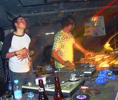 DJ Krust + MC (ryry9379) Tags: china bars asia shanghai mc electronicmusic clubs shelter djs raves drumandbass theshelter krust phreaktion djkrust