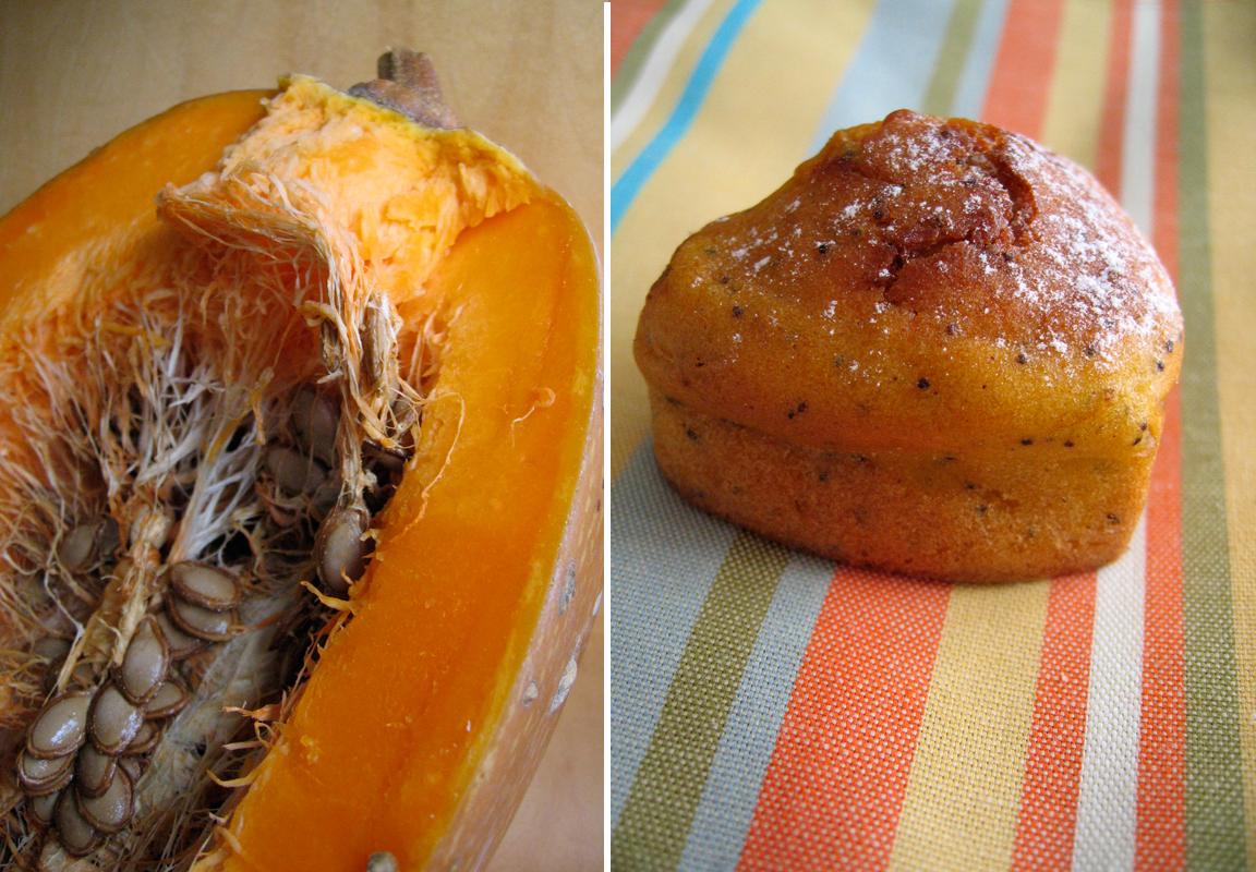 Pumpkin Poppy Seed Muffins