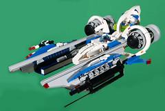 Vic Viper - Atlantean Better Pic (Uspez) Tags: lego spacefighter vicviper novvember