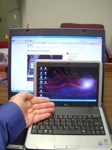 Dell Inspiron Mini Size Comparison