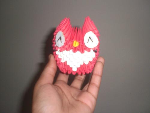 3d Origami Owl Owl Paper