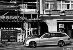 E63T. (Denniske) Tags: auto november car digital canon t eos mercedes benz break belgium belgie belgië optical sigma 11 os voiture 63 09 e knokke vehicle dennis 2008 18200 08 amg noten carspotting stabilizer 18200mm 3563 f3563 40d denniske dennisnoten