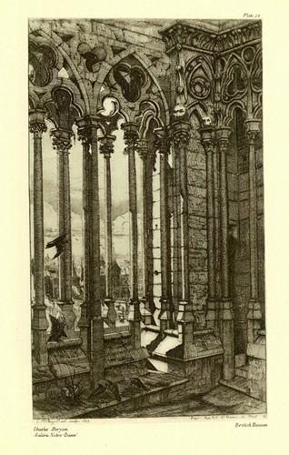 004- Galeria de Notre Dame- Charles Meryon