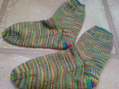 DD's Rainbow Birthday Socks