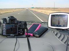 Technologically challenged? (Kimburlee) Tags: camera technology phone sony lg gps traveling gadgets ontheroad phones iphone gadgetgirl ilovegadgets