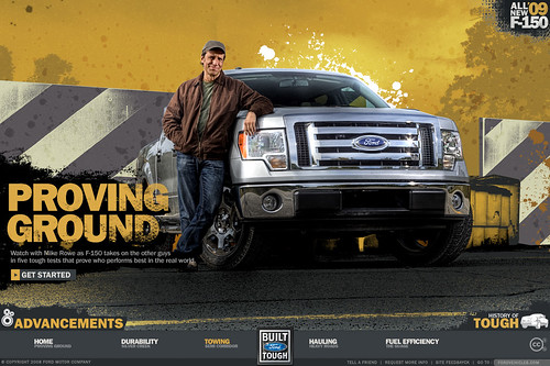 2009 Ford F-150 Advertisement