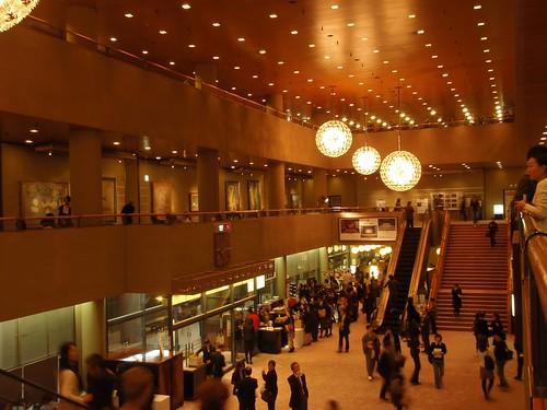 Hall principal del Teatro Nacional