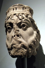 NYC - Metropolitan Museum of Art: Limestone He...