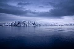 Bokfjorden near Kirkenes (Bozze) Tags: blue winter sea snow seascape norway norge fabulous kirkenes mywinners flickrdiamond dragondaggerphoto bokfjorden bøkfjorden wwwoppnahorisonterse wwwopenhorizonsfinearteu