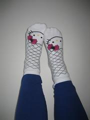 Pakke-kalender (Sakena) Tags: hello socks kitty