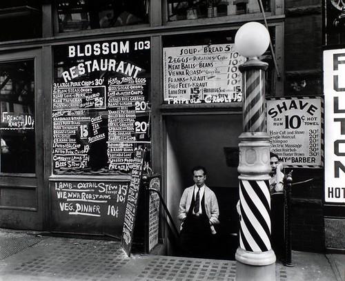 Blossom Restaurant, 103 Bowery, Manhattan.