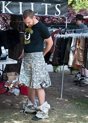 (-will wilson- (very slowly back)) Tags: california man men public kilt candid sanmateo 2011 makerfaire kiltedlife makerfairebayarea makerfaire2011